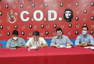 Empresarios y trabajadores se reunieron para establecer una agenda común/Foto: COD