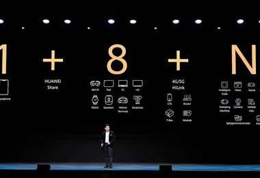 La estrategia 1+8+N de Huawei tiene al smartphone como centro de la vida digital