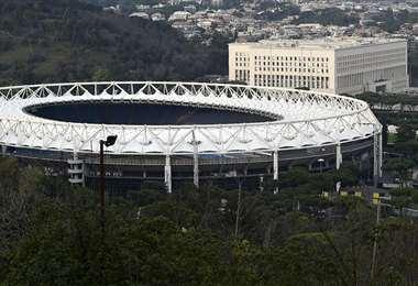 Estadio Olímpico de Roma. Foto: AFP