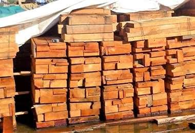 El ingreso de productos maderables afecta la reactivación sectorial (Foto: CFB)