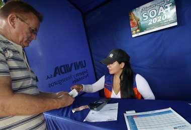 Es obligatorio contar con el seguro (Foto: Ricardo Montero)