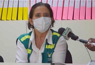 Sarina Banegas dijo que los menores pasaran al cuidado de la familia materna