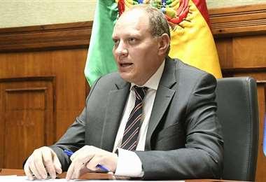 Benjamín Blanco, viceministro de Comercio Exterior. Foto: EL DEBER