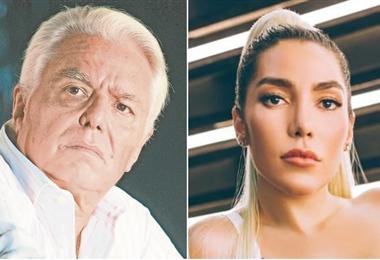 Enrique Guzmán y una imagen de su nieta Frida Sofía