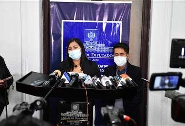 Estefanía Morales pidió la destitución del fiscal Gerardo Balderas