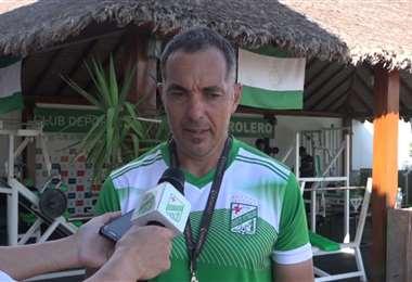 Hugo Tinti, preparador físico de Oriente. Video: Club Oriente Petrolero