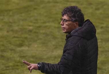 Víctor Hugo Andrada, DT de Guabirá. Foto: APG