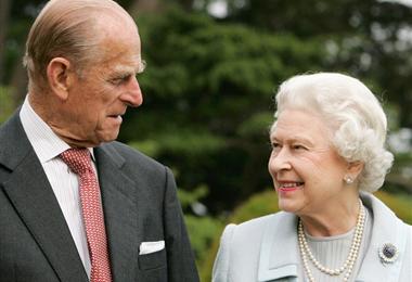 Príncipe Felipe y la reina Isabel. Foto. Internet