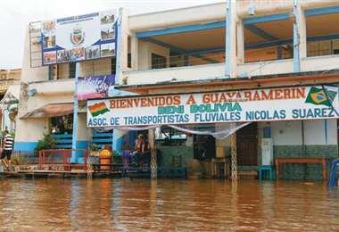 Gobierno compromete ayuda a Guayaramerín. Foto: internet