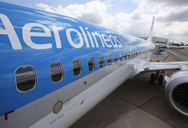 Aerolíneas Argentinas suspende vuelos a Santa Cruz de la Sierra