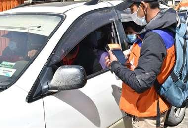 Foto APG: Los controles por el SOAT se desarrollaron en varias ciudades del país