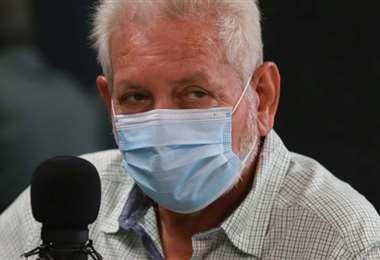 Foto archivo El Deber: Rubén Costas estuvo hoy en El Deber Radio