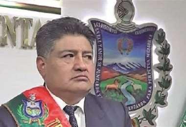 Jorge Quino, presidente del TDJ de La Paz. Foto: Página Siete Sie