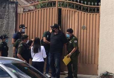 El acusado fue aprehendido en su domicilio del centro de la ciudad cruceña