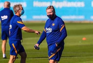 Koeman asumió como DT del Barcelona en agosto del año pasado. Foto: Internet