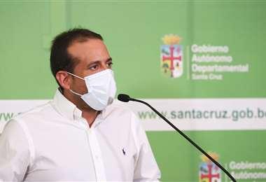 Luis Fernando Camacho,  gobernador cruceño
