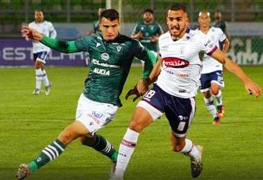 Haquin durante su partido del fin de semana. Foto: extraída del Facebook Luis Haquin