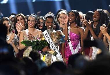 Momento culminante del concurso, elección de la nueva ganadora