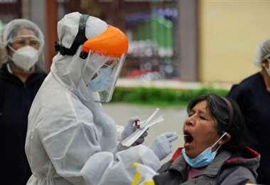 Más de 1.000 casos nuevos estre domingo. Foto: Internet