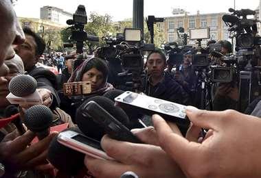 El trabajo periodístico no se se detuvo en tiempos de pandemia