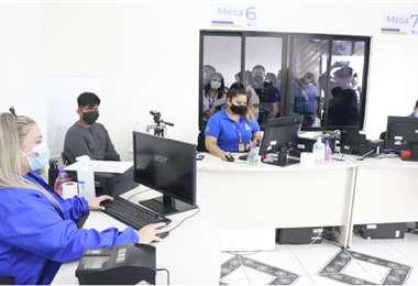 La oficina fue inaugurada este 10 de mayo. Foto: Juan Carlos Torrejón