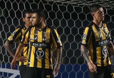 The Strongest no ha marcado goles en la Copa y tiene 10 en contra. Foto: AFP
