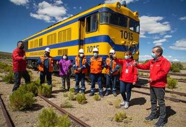 Los transportistas señalan que el tren les quita el trabajo