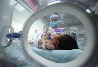 China registra el crecimiento demográfico más lento en décadas. Foto AFP
