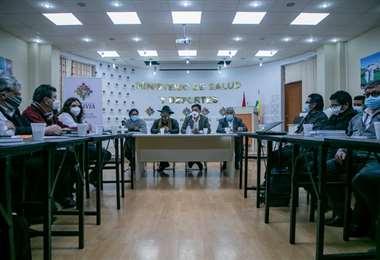 El encuentro entre autoridades I ABI.