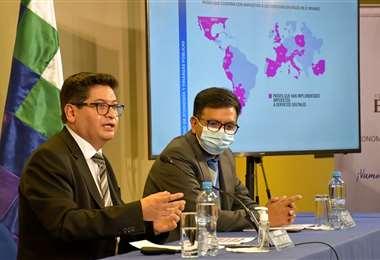El ministro de Economía, Marcelo Montenegro. Foto: Ministerio de Economía