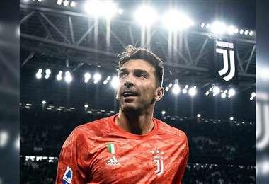 Buffon se despide de la Juventus. Foto: Internet