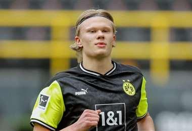 En julio, el noruego Erling Haaland cumplirá 21 años. Foto: Internet