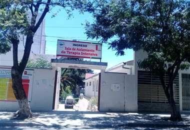 Ingreso del hospital de Tarija