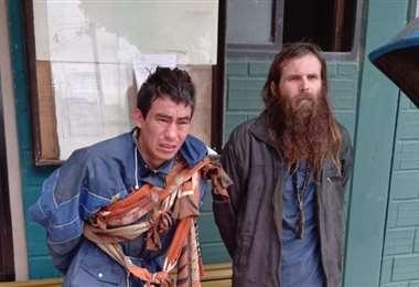 Los dos internos fueron detenidos cuando intentaban huir del penal