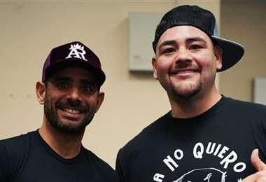 Munir prepara a Andy Ruiz, que quiere recuperar el título mundial. Foto: Internet