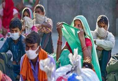 La situación de India preocupa a la OMS