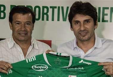 Erwin Sánchez (izq.) y Ronald Raldes, dos de los procesados por el TDD. Foto: Internet