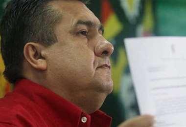 Robert Blanco acudió otra vez a un Amparo Constitucional. Foto: Jorge Ibáñez