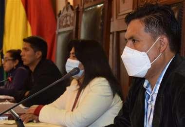 El ministro acudió al Senado dos meses después de ser convocado (Foto: Senado)