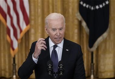 Joe Biden, presidente de Estados Unidos. Foto. AFP