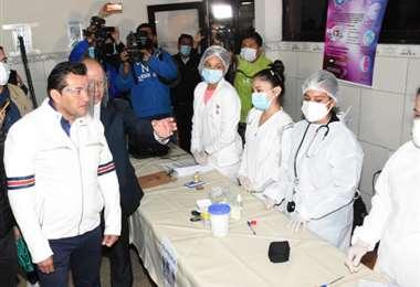 Los refugiados serán atendidos por funcionarios médicos todos los días
