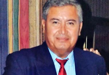 Raúl Saavedra estuvo internado en el hospital Obrero durante casi dos semanas