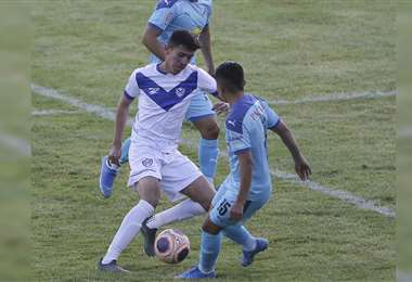 San José se enfrentó a Bolívar el fin de semana. Foto: APG