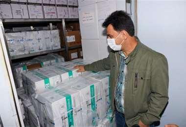 Santa Cruz recibió 68.400 dosis de vacunas anticovid