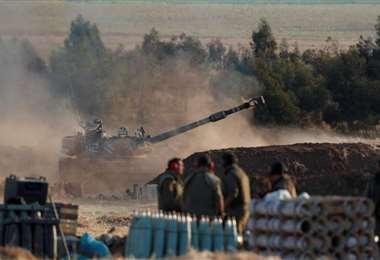 Militares israelíes entraron en la Franja de Gaza