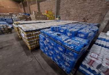 La mercadería es de origen argentino y brasileño. . Fotos: Jorge Gutiérrez