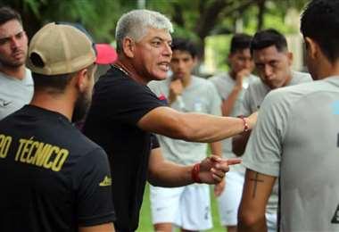 Armando Ibáñez, nuevo DT de Real Potosí. Foto: Club San Felipe