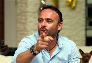 Juan Jordán, presidente de Blooming. Foto: El Deber