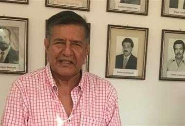 Carlos Sánchez es el actual presidente de Real Santa Cruz. Foto: Internet