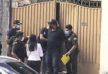 El juez Castro fue enviado a Palmasola. Foto: EL DEBER